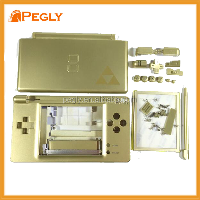 For Nintendo DS Lite NDSL Full Housing Shell Cover Case Replacement for Zelda Limited Edition