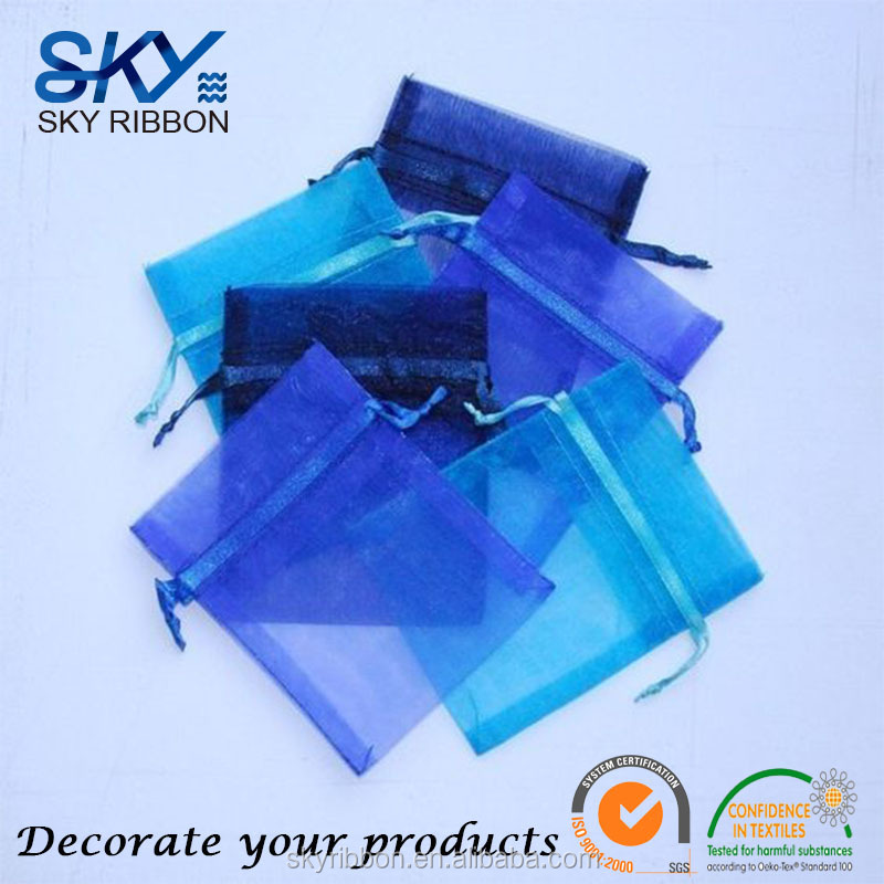 Skyribbon Jewelry Bags Organza bag