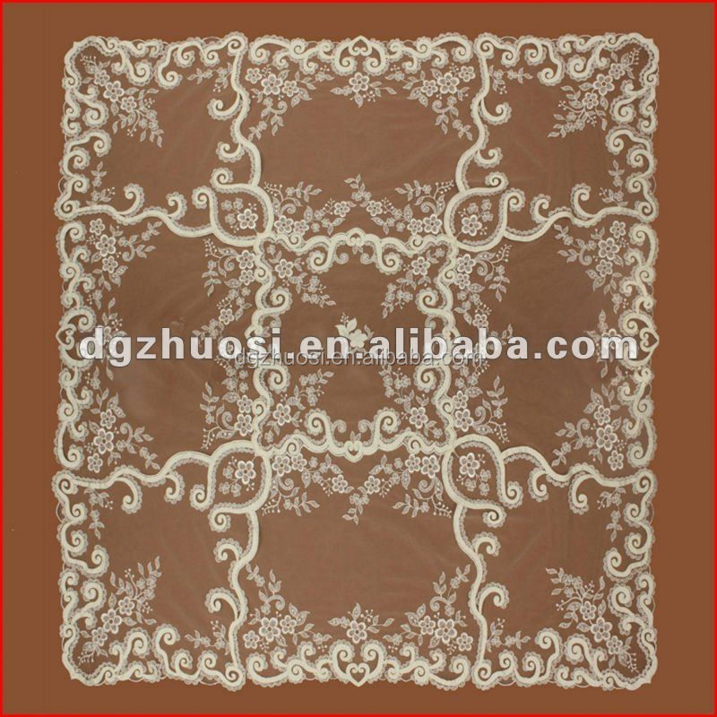 New design embroidery pattern table cloth