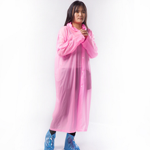 Disposable PVC material high quality and cheap hooded raincoat