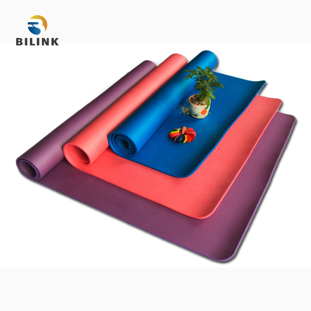 Bilink eco friendly non-slip extra large size 1850x <strong>1200</strong> <strong>x</strong> 20mm ultra thick NBR yoga mat