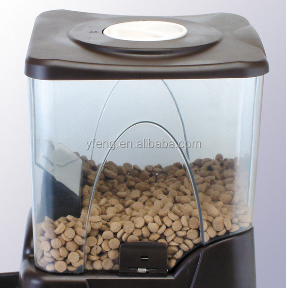 PF-10A Large Automatic Pet Feeder Electronic Programmable Portion Control Dog Cat Feeder w/ LCD display