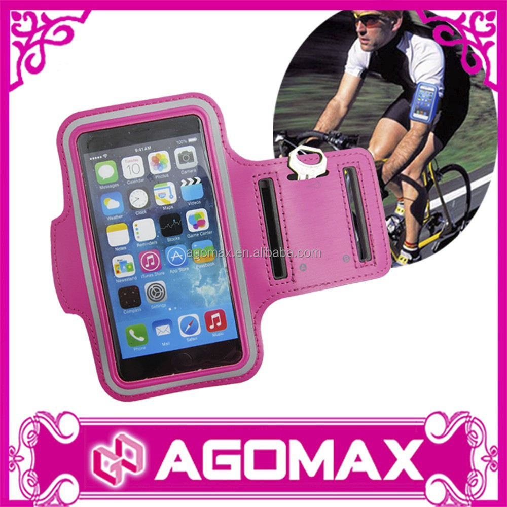 Custom cell phone sports armband For iphone 6 running armband