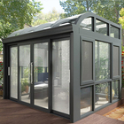 New design Energy saving aluminum profile for sunroom/aluminum insulated roof Patio Enclosures/Green House