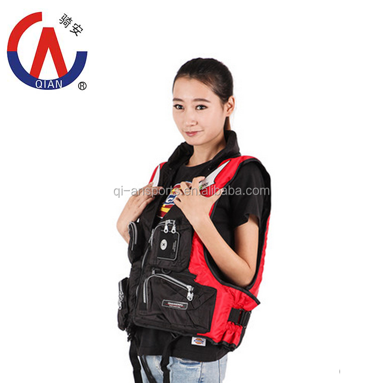 Reflective safety foam life jacket/fishing vest