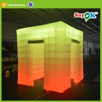 wedding photobooth portable led inflatable photo booth shell backdrop prices sales