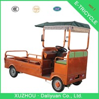 sdult chinese tricycle two front wheels electric quadricycle cargo