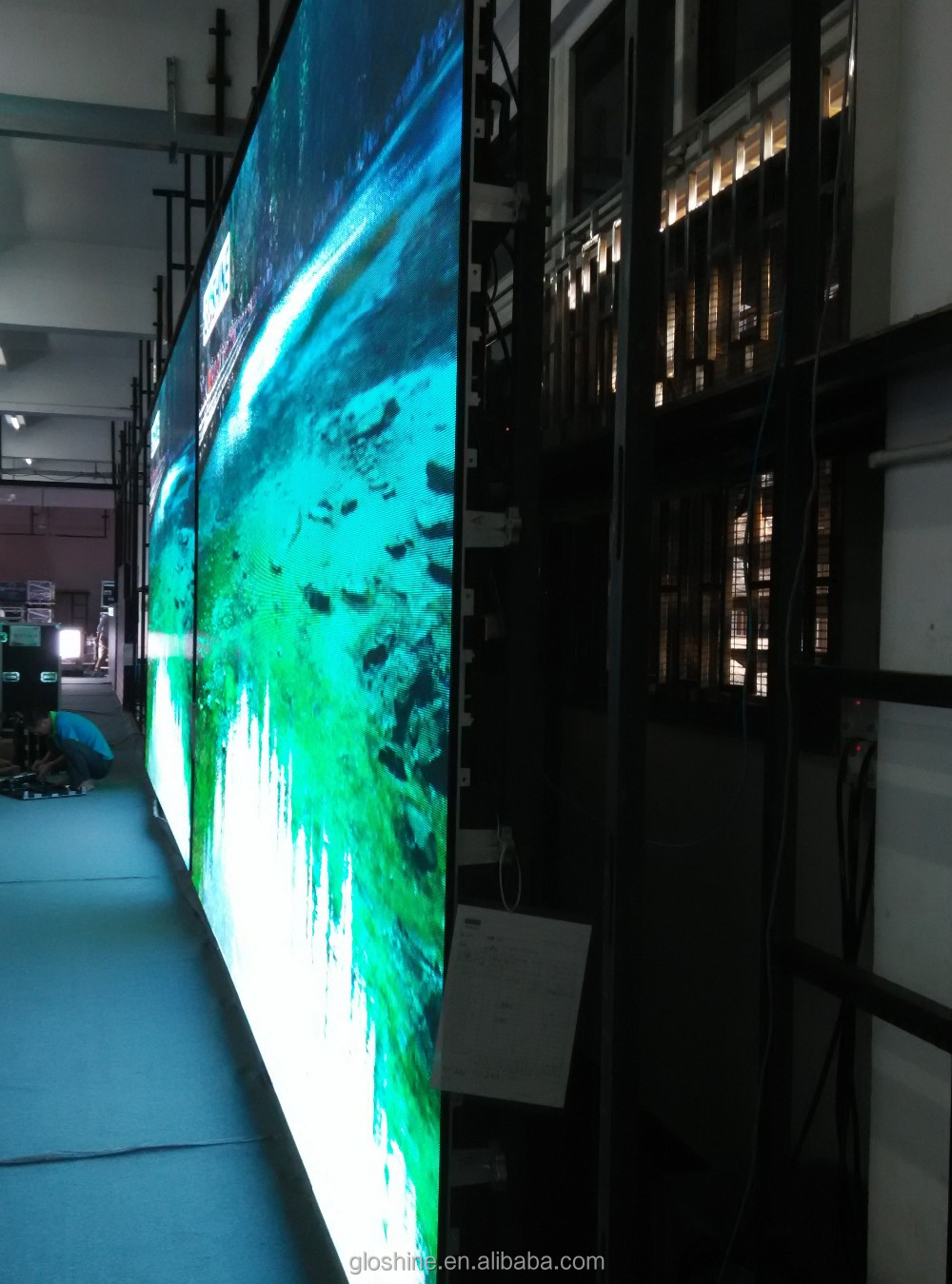 new product sexy video p6 led display indoor
