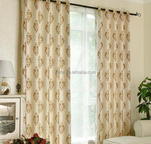 Luxury Jacquard Window Curtains for Bunk Beds Blackout Window Curtain