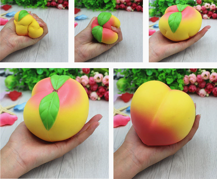 Squishy Color Cute PU Foam Stress Toy Custom Stress Ball for Children Adult