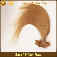 Indian Temple Hair New Products Silk Strand Hair Extension