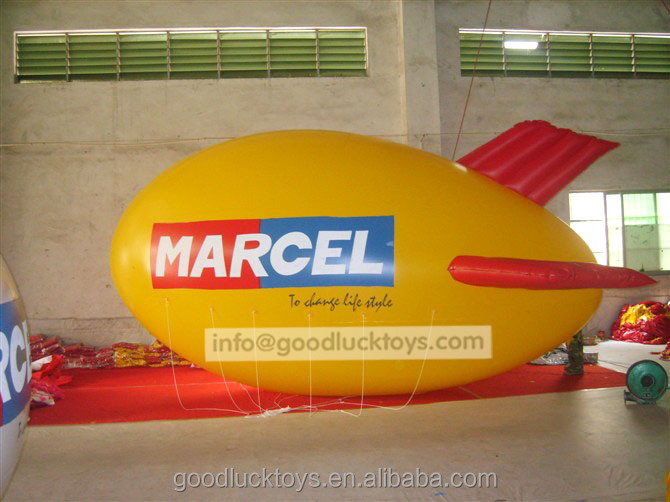 advertising inflatable airship/blimp/zeppelin /inflatable blimp for sale