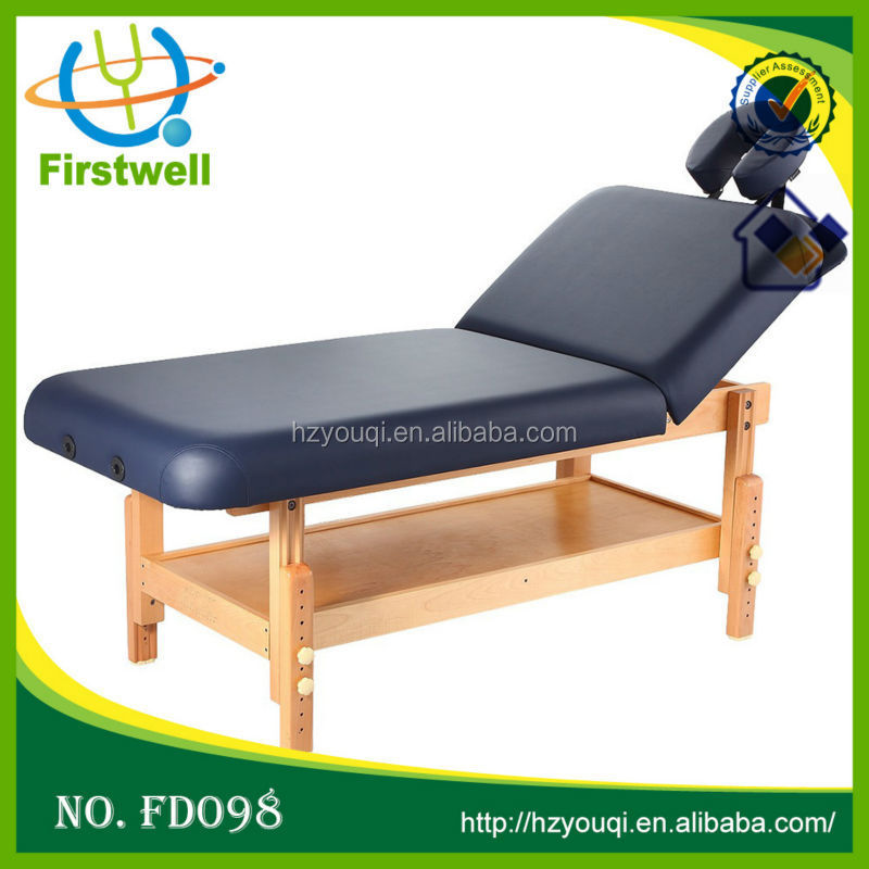 New concept Folding Massage Bed with Round Corners