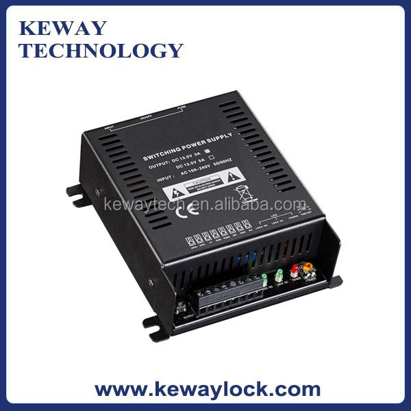 AC to DC Switch Power Supply for Access Control System & Electric Locks 3A Power Supply