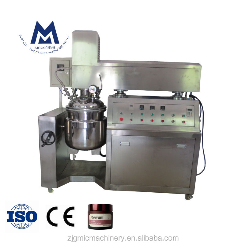 Reasonable Price Automatic Vacuum Homogenizer Mixing Machine / Automatic Vacuum Homogenizer Mixer