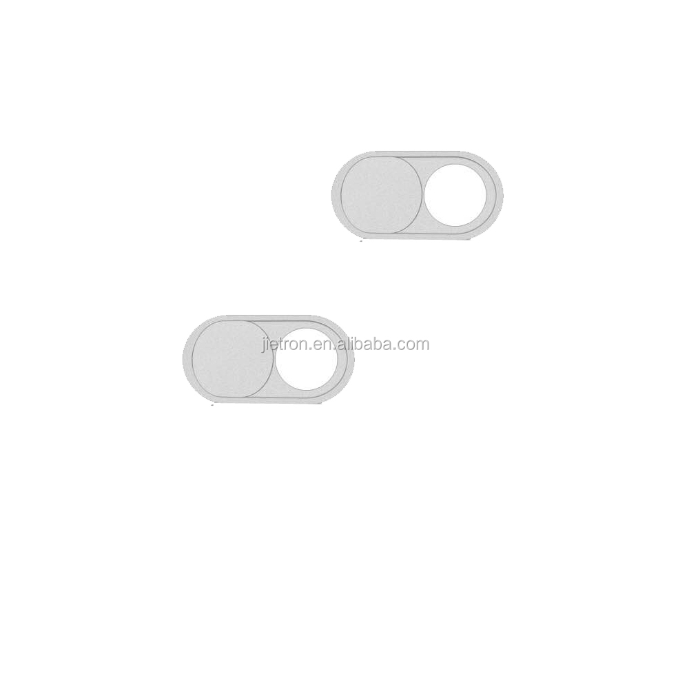 Webcam Cover for iPhone Android Smartphones-Silver/2-pack, with blister card packing