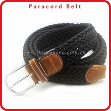 wholesale fashion paracord webbing belt for men