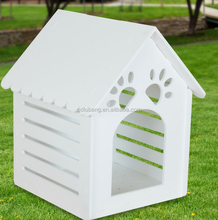 waterproof ecofriendly wpc material wood pet cages carriers/small animals dog house