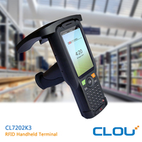 1Ghz quad core handheld android bluetooth rfid reader for warehouse regular checking