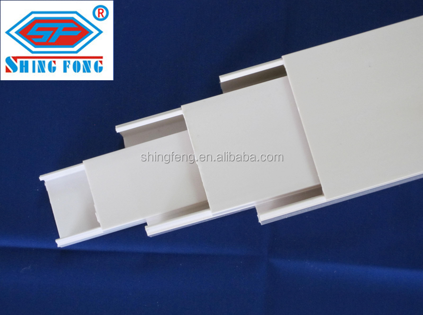 GB/T ISO standard high quality PVC Electrical cable Trunking