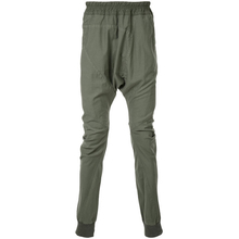 Loose fit drop-crotch trousers Men's Lightweight Drop Crotch Jogger Pants