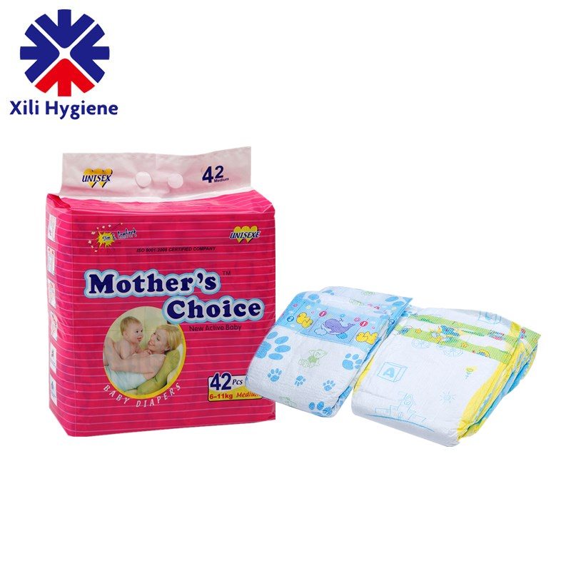 Cheap Price Printed Chinese Baby Diapers