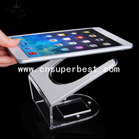 China Supplier Hot Sale Clear Acrylic Ipad Display Holder/Acrylic Ipad Display Stand