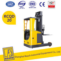 Top level hot sale curtis control electric reach truck