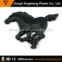 Gloss black horse emblems for car