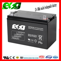 Solar storage battery Usage and Free Maintenance Rechargeable lead-acid battery 12v 100AH with deep cycle batteries