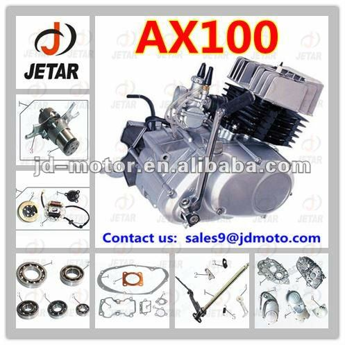 2015 new design AX100 4-stroke ENGINE