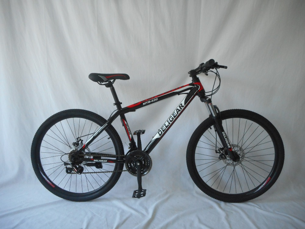 26inch 24inch 21speed ,7 speed options steel frame mountain bike with suspension fork