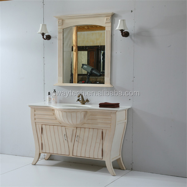 Wholesale wood floor standing lowes bathroom sinks vanities