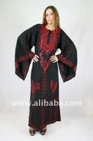 Ladies Embroidered Kaftan/ Caftan - maxi dress in Seventy Look