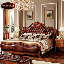 118-M antique hand carved european style king luxury wood bedroom set,bed room furniture bedroom set