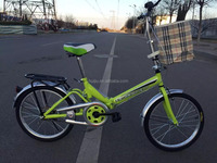 20 inches lady folding bike / shock absorbing bicycle