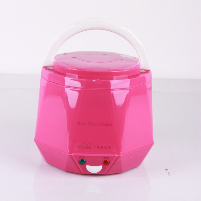 Hot Car travel Smart Electric National 5 layers design non stick microwave Mini plastic rice cooker 1.3L DC 12V 24V