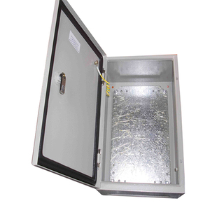 Outdoor electrical battery charger distribution cabinet