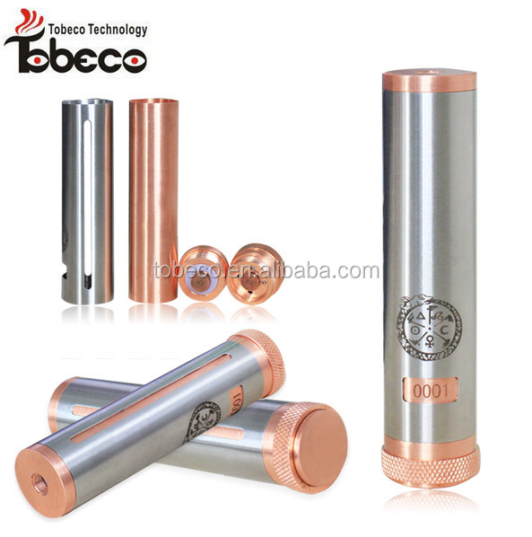 Tobeco best quality changeling mod clone ss and copper tubes with magnetic switch reverse threaded button changeling