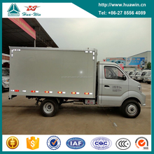 Cheap Price Sinotruk CDW 4x2 Single Cab Right Hand Drive 1 ton Mini Box Van Cargo Truck