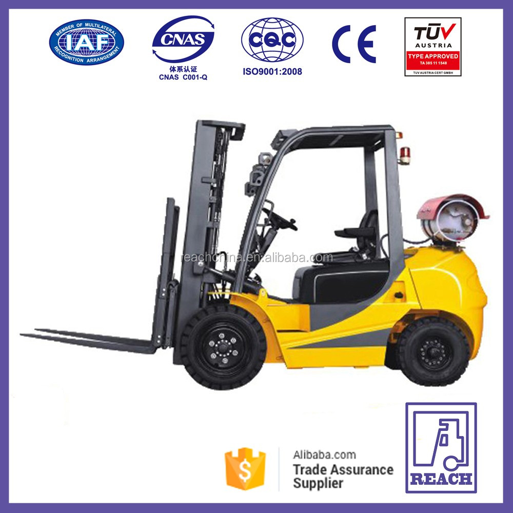 Names REACH new product 3 ton gas & lpg mini forklift truck