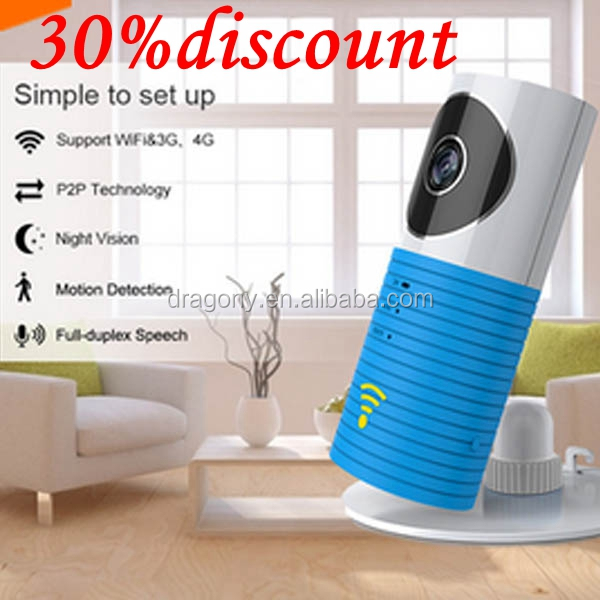 Smart Home WiFi wireless IP Camera Intelligent 720P Baby Monitor Security Camera with Night Vision