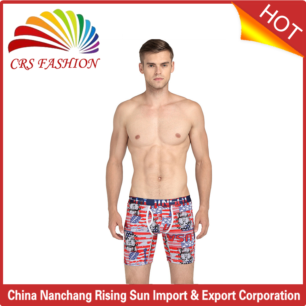Hot selling Custom printed Boxer Shorts Male Sexy boxer underwear men boxer man