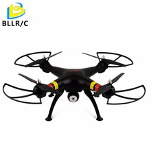 Headless Syma X8W 2.4Ghz 4CH RC drone with Wifi FPV Real Time 2MP HD Camera Quadcopter - BLACK