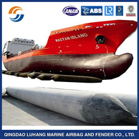salvage pontoon natural rubber pontoon for vessel hauling out