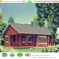 most popular Warm wooden house or villa