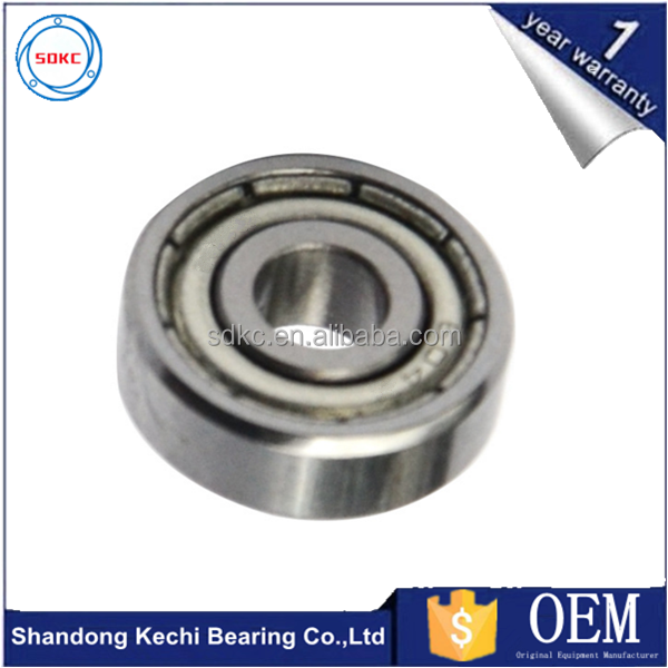Miniature Deep Groove Ball Bearings 604Z 604ZZ size 4*12*4 mm washing machine bearings OEM
