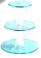 colorful acrylic cupcake stand or 6 tier cake stand