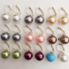 fashion clip earring wholesale QL-00054