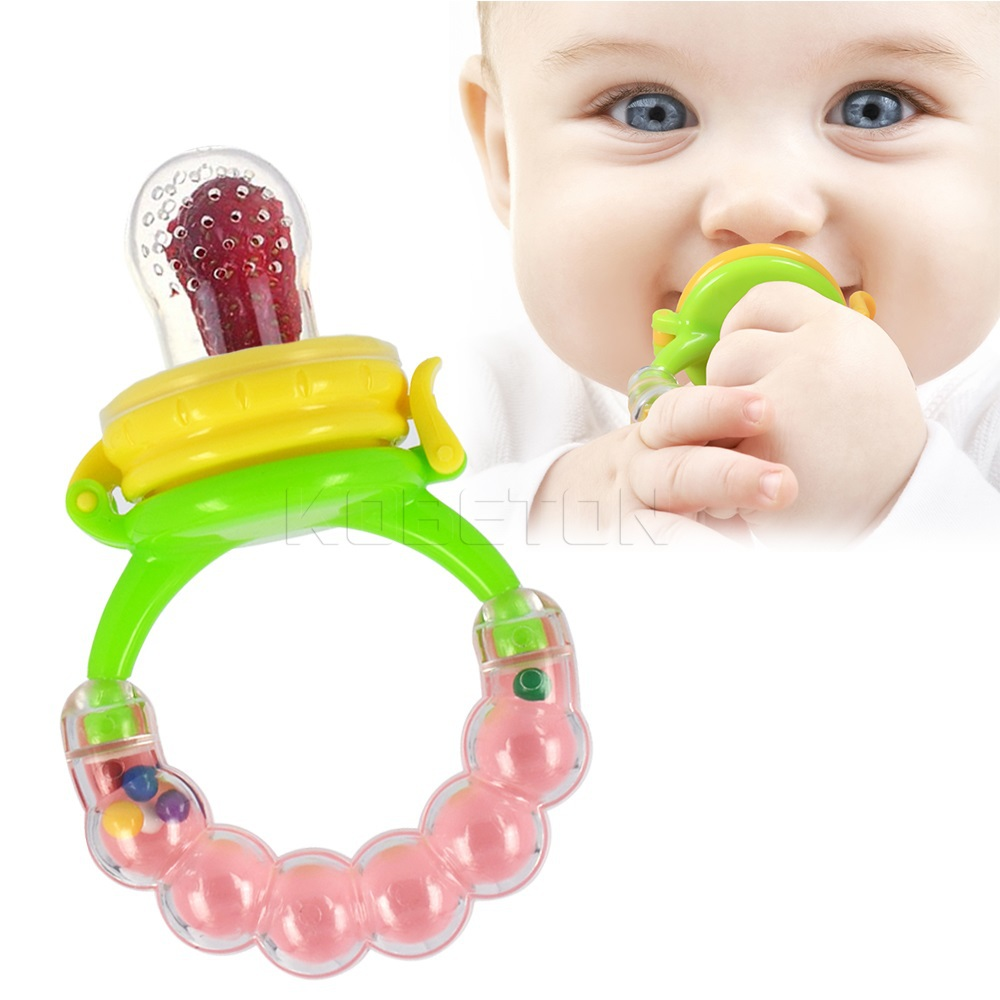 Milk Dummy Fruits Soft Dummies Mesh Soother Nipples Feeding Tool Baby Pacifier